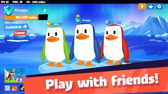 JustFall.LOL – Multiplayer Online Game of Penguins Mod Apk 1.150 3
