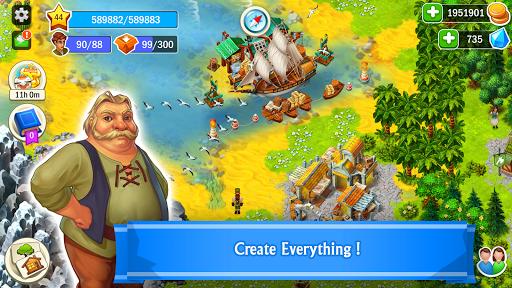 WORLDS Builder: Farm & Craft  screenshots 1