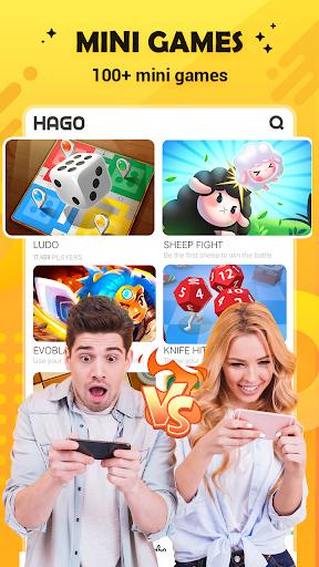 Hago-Talk, Live & Play Games android2mod screenshots 1