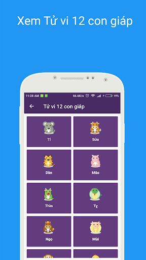 Tu1eed vi 2021 - Xem tu vi hang ngay , xem boi tarot android2mod screenshots 2