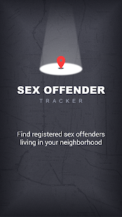 Sex Offender Search Screenshot