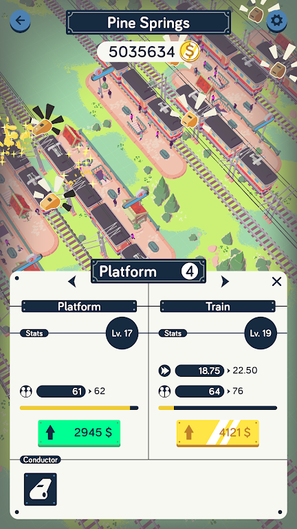 Train Station Idle Tycoon  poster 3