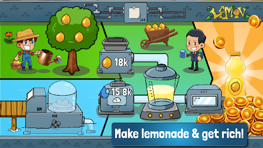 Idle Lemonade Tycoon - Manage your Idle Empire Apkfinish screenshots 4