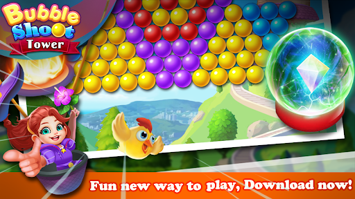 Bubble Tower Legend - Bubble Shooter Magic Pop Apkfinish screenshots 10