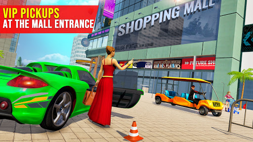 Shopping Mall Radio Taxi: Car Driving Taxi Games  screenshots 2