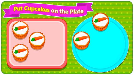 Baking Carrot Cupcakes - Coking Game screenshots 8