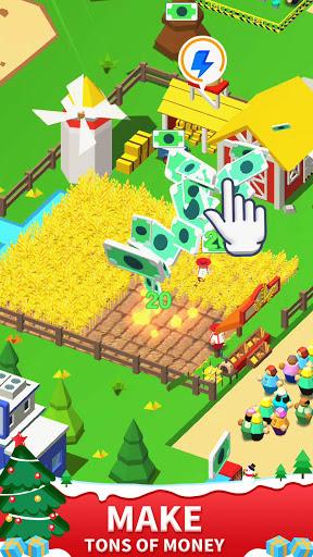 Idle Leisure Farm - Cash Clicker apktram screenshots 2