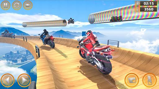 Mega Ramp Impossible Tracks Stunt Bike Rider Games 2.9.8 Screenshots 3