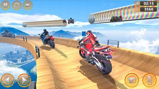 Mega Ramp Impossible Tracks Stunt Bike Rider Games 3.4.2 Screenshots 3