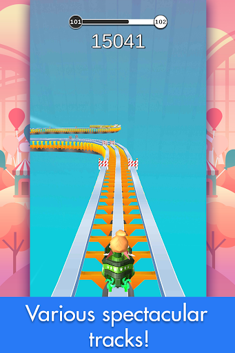 Coaster Rush: Addicting Endless Runner Games 2.2.10 screenshots 2