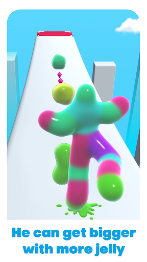 Jelly Man Run painmod.com screenshots 2