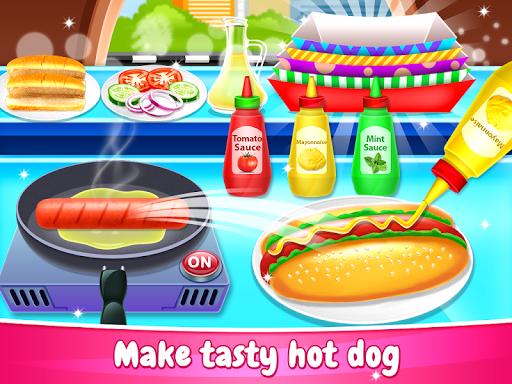 Code Triche Street Food - Cooking Chef Game (Astuce) APK MOD screenshots 2
