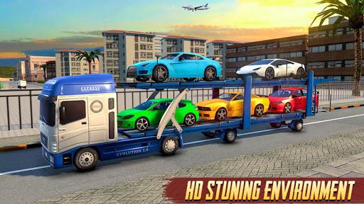 Airplane Car Transport Driver: Airplane Games 2020 screenshots 7