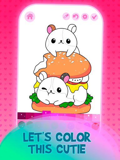 Animated Kids Coloring Book 3.4 screenshots 2