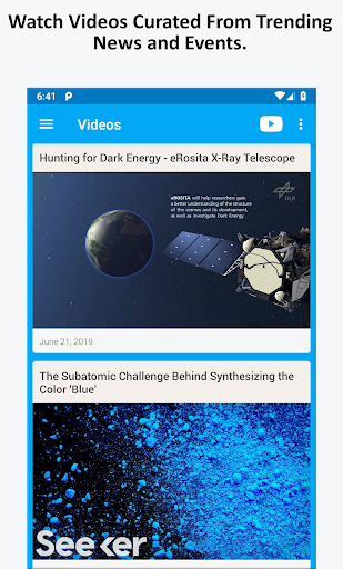 Science News, Videos, & Social Media 3.0 Screenshots 3
