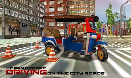 Tourist Transport Taxi: Tuk Tuk Driving Simulator  screenshots 3