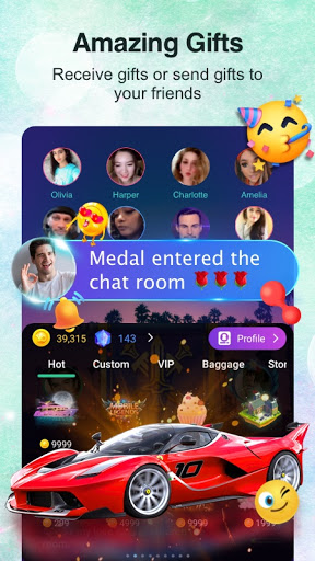 YoYo - Voice chat room, Audio chat, Casual games apktram screenshots 5