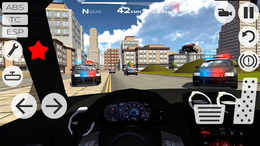 Extreme Car Driving Racing 3D  screenshots 2