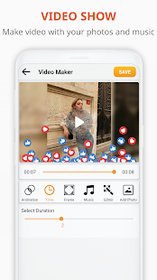 Photo Video Maker - Create slideshows with music