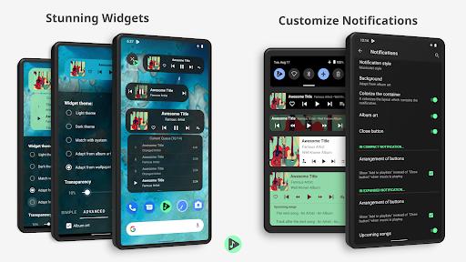 Musicolet Music Player  screenshots 3