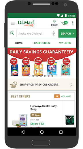 DMart Ready  - Online Grocery Shopping  screenshots 2