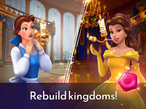 Disney Princess Majestic Quest: Match 3 & Decorate  screenshots 13