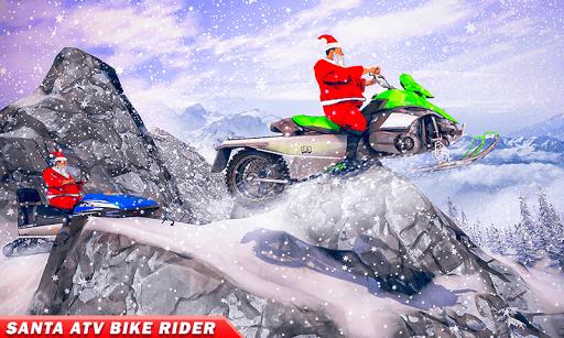 Santa Atv Snow Bike Racing 2020 : Quad Bike Race 1.1 Screenshots 4