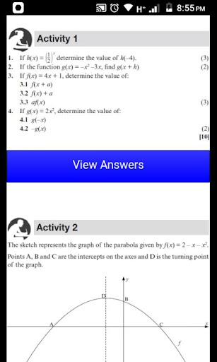 Grade 12 Mathematics Mobile Application 2.0 Screenshots 9