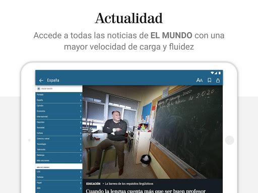 El Mundo - Diario lu00edder online 5.0.24 Screenshots 8