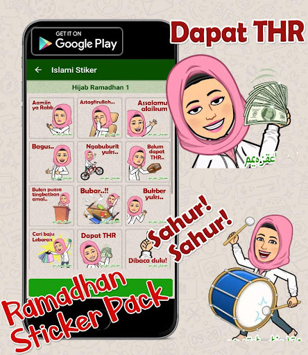 Puasa Ramadhan Stiker 2020 Islami WastickerApps  screenshots 4