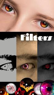 Sharingan - Eyes And Hair Color Changer 1.4.1 Screenshots 1