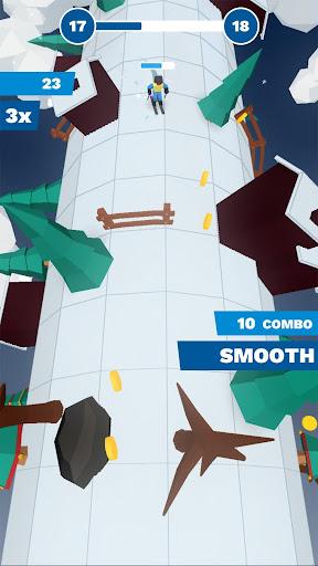 Code Triche Chilly Slide: A Geometry Slalom Winter Games Saga mod apk screenshots 5