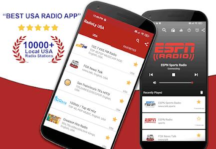 RADIO USA: FM Radio, US AM/FM Station, Radio Tuner 3.0