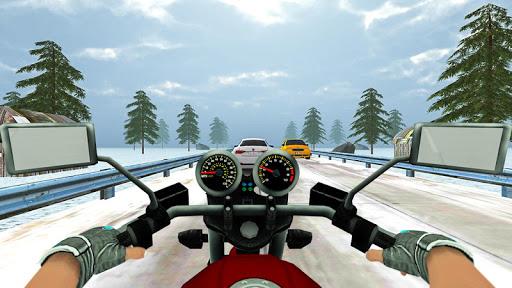 Highway Real Traffic Bike Racer screenshots 10