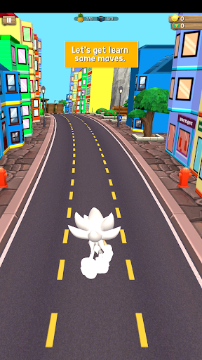 Subway Soni Blue Hedgehog Dash - Endless Run Game 1.4 screenshots 1
