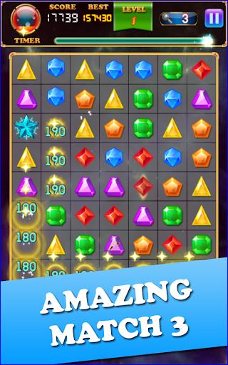 Jewels Classic - Match 3 modiapk screenshots 1