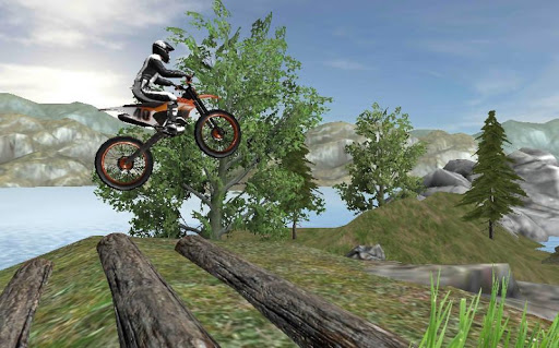 🏍️ extreme dirt bike racing xtra obstacle course screenshot 2