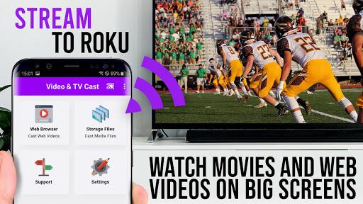 Video & TV Cast | Roku Remote & Movie Stream App android2mod screenshots 7