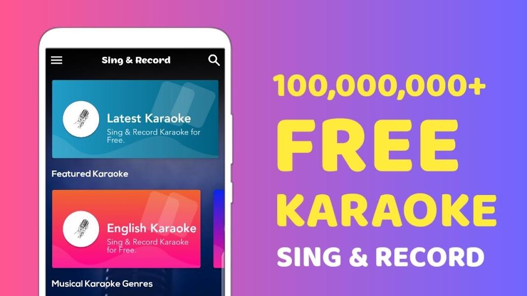 Free Karaoke - Sing & Record, Sing Free Karaoke