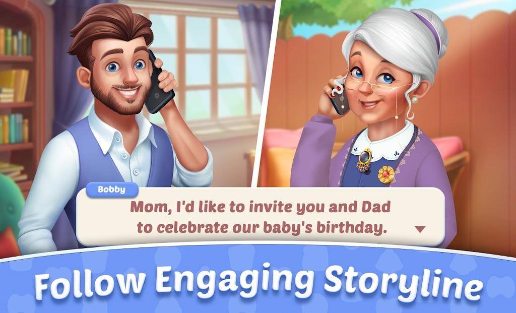 Baby Manor: Baby Raising Simulation & Home Design  poster 23