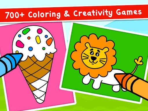 Coloring Games for Kids - Drawing & Color Book Apkfinish screenshots 10