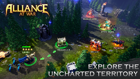 Alliance at War: Dragon Empire – Strategy MMO 2
