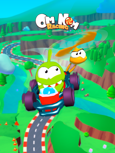 Om Nom: Racing apkmartins screenshots 1