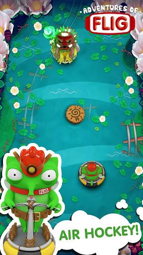 Adventures of Flig - Air Hockey Multiplayer Free screenshots 2