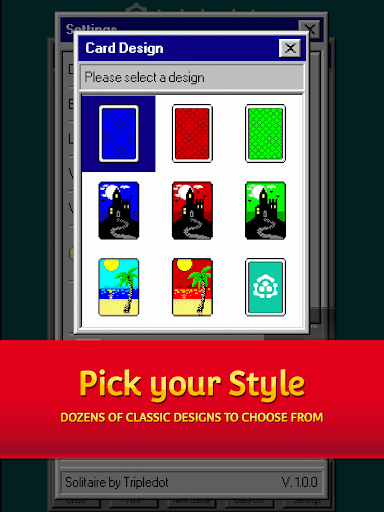Solitaire 95 - The classic Solitaire card game 1.5.0 screenshots 10