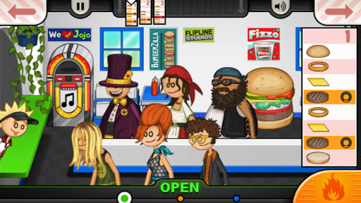 Papa's Burgeria To Go! Apkfinish screenshots 2