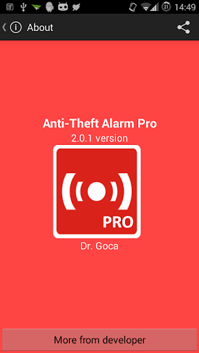 Anti-Theft Alarm Pro For PC Windows (7, 8, 10, 10X) & Mac Computer Image Number- 12