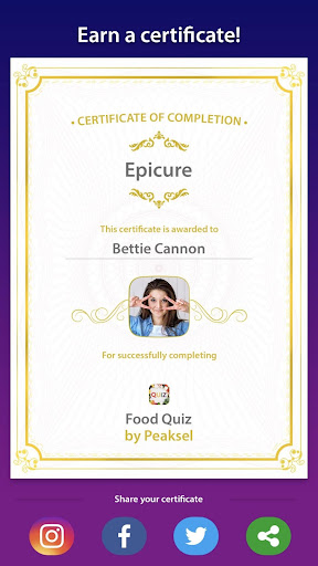 Food Quiz 5.0.4 screenshots 5