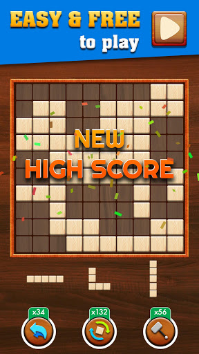 Woody Extreme: Wood Block Puzzle Games for free  screenshots 1