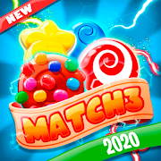 Sweet Sugar Match 3 - Free Candy Smash Game